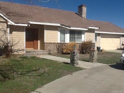 Rosamond Single Family Home For Sale: 7915 Dogwood Avenue