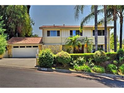 Woodland Hills Single Family Home For Sale: 23516 Aetna Street