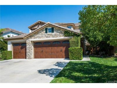 Canyon Country Single Family Home For Sale: 26548 Cardinal Drive