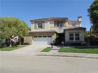 Stevenson Ranch Single Family Home For Sale: 25856 Tennyson Lane