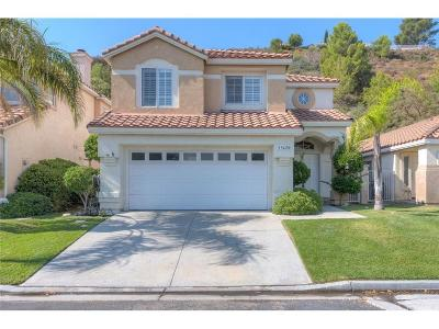 Newhall Single Family Home For Sale: 19420 San Marino Court
