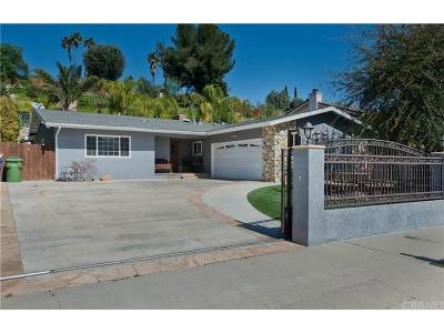 West Hills Single Family Home For Sale: 21923 Parthenia Street