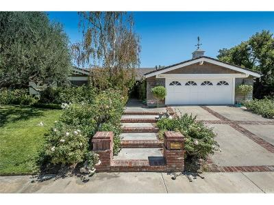 Tarzana Single Family Home For Sale: 19660 Greenbriar Drive