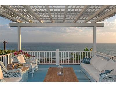 Malibu Single Family Home For Sale: 31387 Pacific Coast