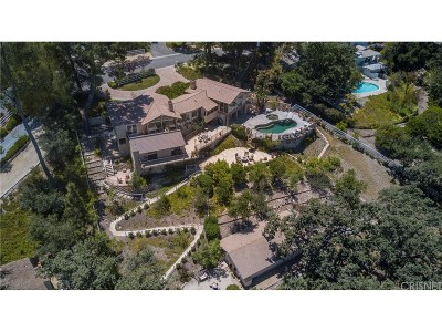 Hidden Hills Single Family Home For Sale: 5873 Fitzpatrick Road