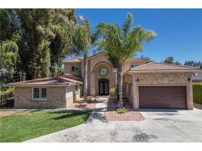 Tarzana Single Family Home For Sale: 5724 Tampa Avenue