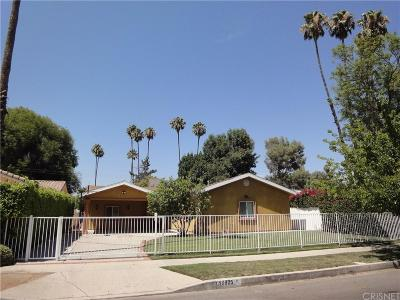 Woodland Hills Single Family Home For Sale: 19825 Gilmore Street