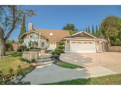 Thousand Oaks Single Family Home For Sale: 1275 Calle De Oro