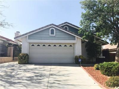 Palmdale Single Family Home For Sale: 37031 Potter Drive