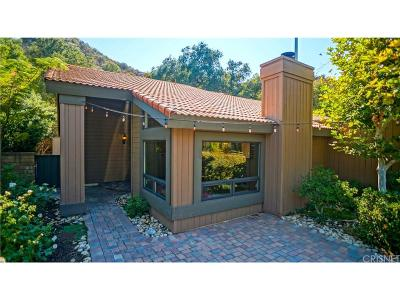 Newhall Single Family Home For Sale: 23726 La Salle Canyon Road