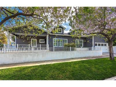 Studio City Single Family Home For Sale: 12440 Valley Spring Lane