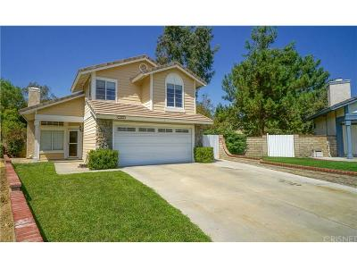Saugus Single Family Home For Sale: 21619 Wisterly Court