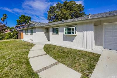 Thousand Oaks Single Family Home For Sale: 648 Calle Tulipan