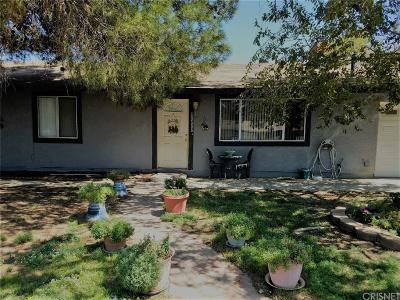 Lancaster Single Family Home For Sale: 40586 166th Street East