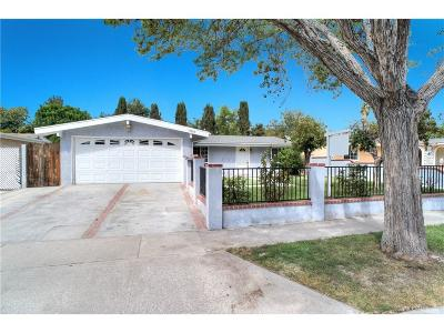 Canyon Country Single Family Home For Sale: 19043 Delight Street