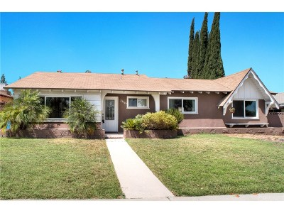 West Hills Single Family Home For Sale: 23909 Vanowen Street