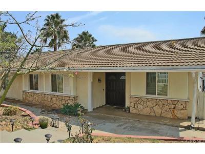 Northridge Single Family Home For Sale: 16300 Ballinger Street