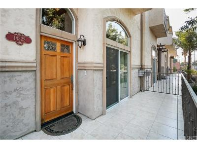 Northridge Condo/Townhouse For Sale: 18322 Rayen Street