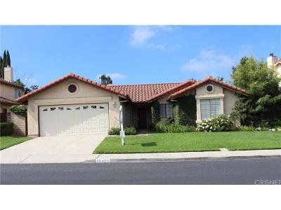Moorpark Single Family Home For Sale: 13434 Christian Barrett Drive
