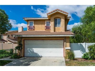 Castaic Single Family Home For Sale: 30435 Daisy Court