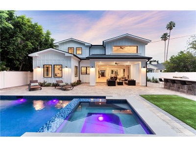 Studio City Single Family Home For Sale: 13042 Ventura Boulevard
