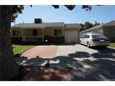 Burbank Single Family Home For Sale: 1505 North Fairview Street
