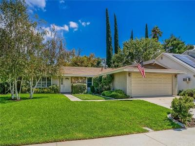 Saugus Single Family Home For Sale: 28216 Shelter Cove Drive