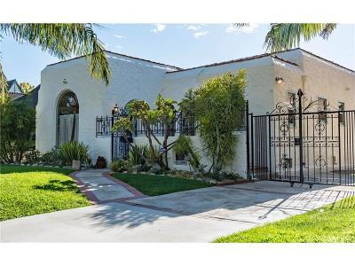 Los Angeles Single Family Home For Sale: 411 North Citrus Avenue