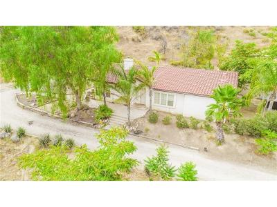 Saugus Single Family Home For Sale: 23700 Quail Haven