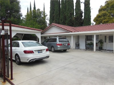 Woodland Hills Single Family Home For Sale: 23007 Burbank Boulevard