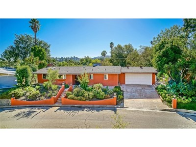 Woodland Hills Single Family Home For Sale: 4760 Cerrillos Drive