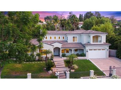 Encino Single Family Home For Sale: 17980 Rancho Street