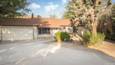 Palmdale Single Family Home For Sale: 40007 167th Street East