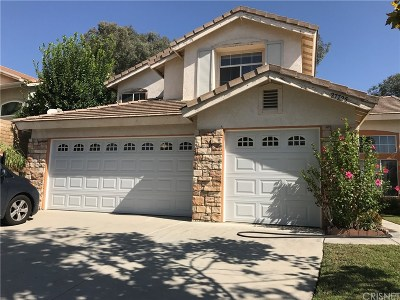 Castaic Single Family Home For Sale: 27725 Villa Canyon Road