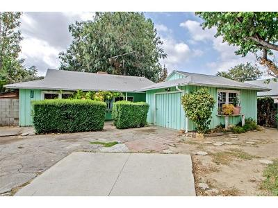Northridge Single Family Home For Sale: 17524 Strathern Street