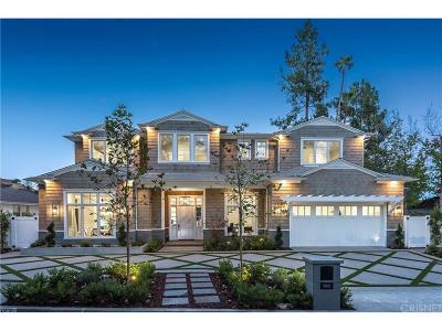 Sherman Oaks Single Family Home For Sale: 16067 Valley Wood Road