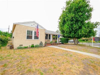 Burbank Single Family Home For Sale: 2620 West Verdugo Avenue