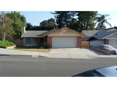 Saugus Single Family Home For Sale: 22504 Paragon Drive
