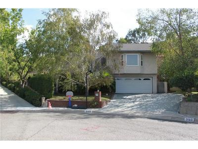 Thousand Oaks Single Family Home For Sale: 358 Thorpe Circle