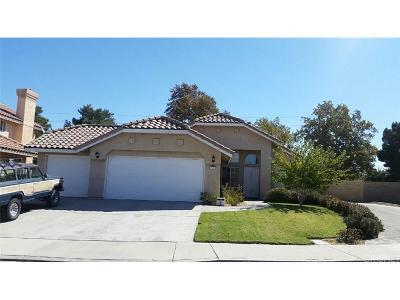 Palmdale Single Family Home For Sale: 39724 Tesoro Lane