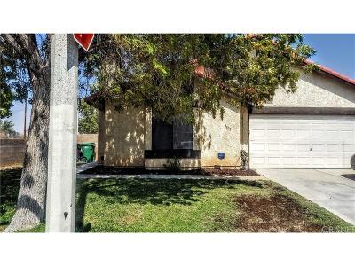 Palmdale Single Family Home For Sale: 3503 East Avenue R12