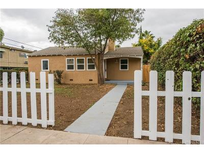 Sherman Oaks Single Family Home For Sale: 14116 Califa Street