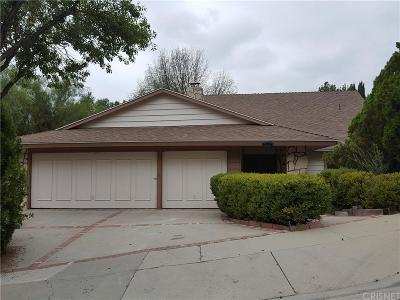 Agoura Hills Single Family Home For Sale: 4137 Jim Bowie Road