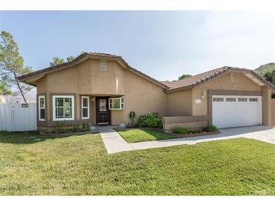 Canyon Country Single Family Home For Sale: 15216 Oleander Court