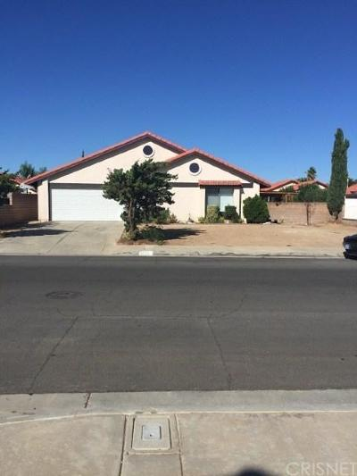 Palmdale Single Family Home For Sale: 37123 31st Street East