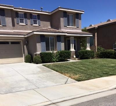 Palmdale Single Family Home For Sale: 5135 Meadowsweet Drive