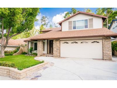 Saugus Single Family Home For Sale: 21961 Marjoram Court