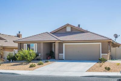 Palmdale Single Family Home For Sale: 37100 Wilton Drive