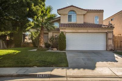 Palmdale Single Family Home For Sale: 37626 Nectarine Drive