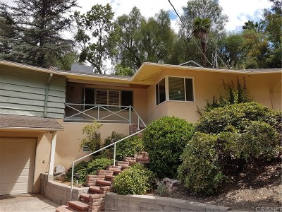 Woodland Hills Single Family Home For Sale: 4692 Morro Drive